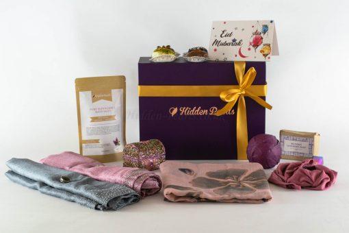 Eid Gift box with card 2020 - floor 11 card on box