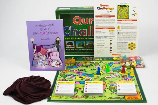 Girls Quran Challenge Gift Set