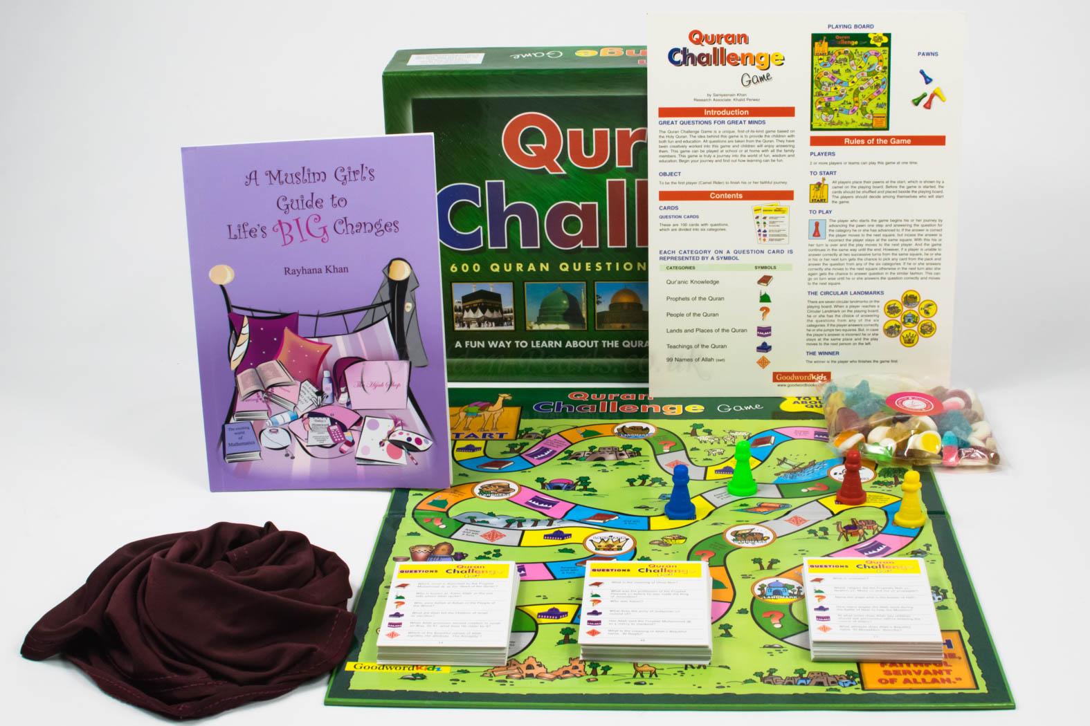 Girls Quran Challenge Gift Set