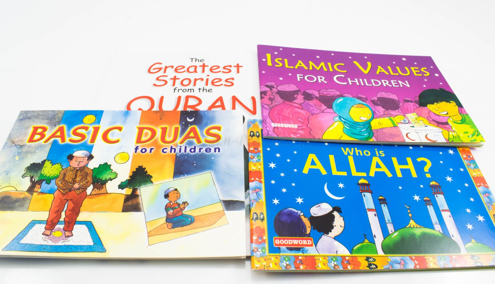 Islamic Stories Gift Set For Kids 3