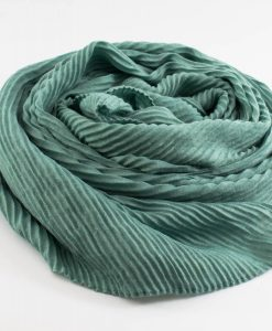 Leather Tassel Hijab Mint 4