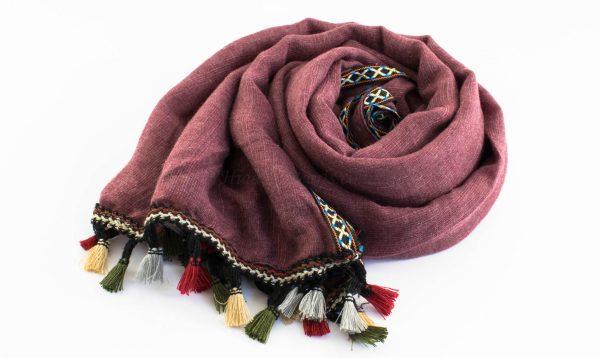 Moroccan Border Hijab Rose