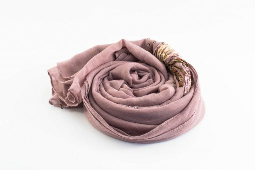 Picasso Velvet Hijab Lavender