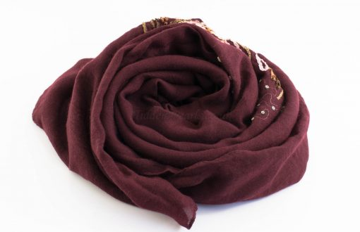 Picasso Velvet Hijab Rosewood