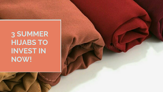 3 Summer Hijabs To Invest In Now!