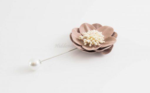 Big Petal Pins - Hidden Pearls - Lavender