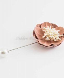 Big Petal Pins - Hidden Pearls - Light Pink