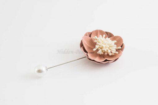 Big Petal Pins - Hidden Pearls - Light Pink