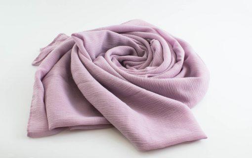 Crepe Chiffon Hijab - Hidden Pearls - Lilac