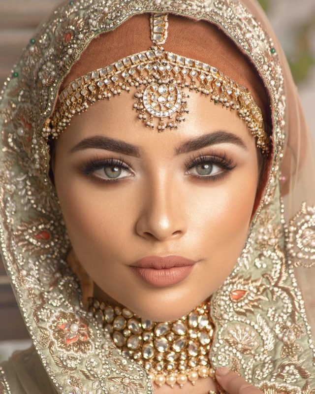 Hidden Pearls Wedding Bridal Hijab & Makeup