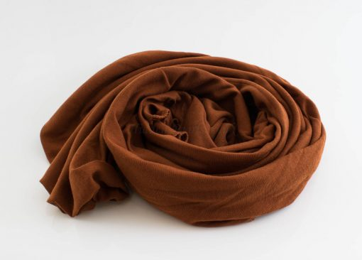 Jersey Hijab - Burnt Orange - Hidden Pearls