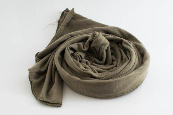 Jersey Hijab - Olive - Hidden Pearls