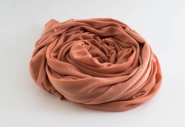 Jersey hijab - Peach - Hidden Pearls