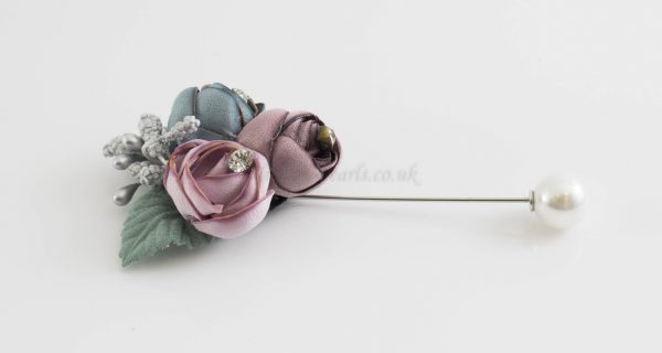 Rose Bouquet Pin 2