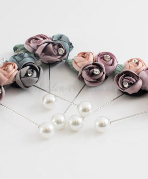 Rose Bouquet Pin