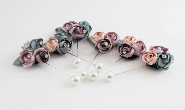 Rose Bouquet Pin