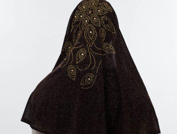 Al-Amira Hijab - Chocolate 4 - Hidden Pearls.jpg