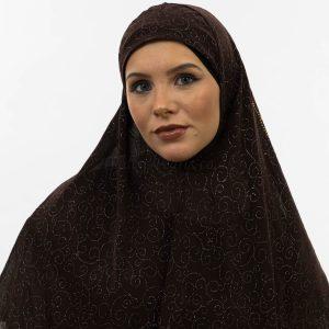 Al-Amira Hijab - Chocolate- Hidden Pearls.jpg