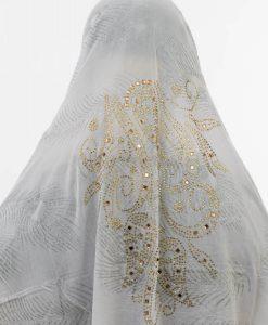 Al-Amira Hijab - White 2- Hidden Pearls
