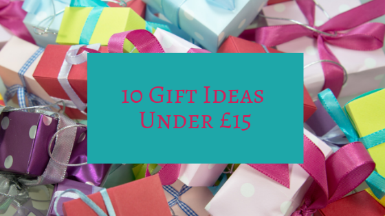 10 Gift Ideas Under £15