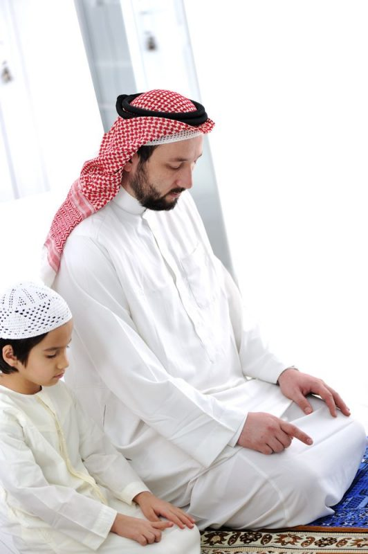 spending time with children - muslim parents article