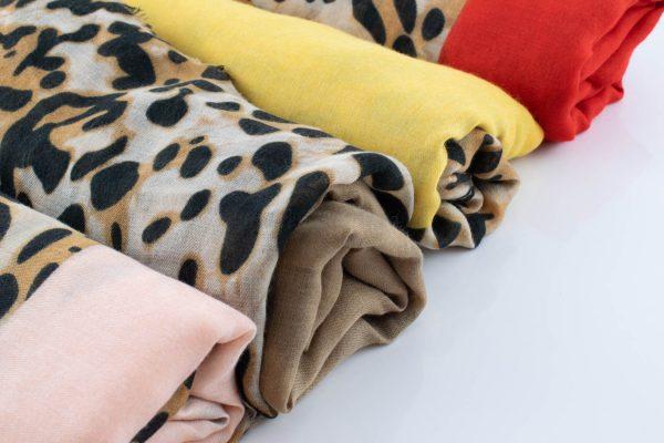 Deluxe Leopard Print Hijab - Hidden Pearls
