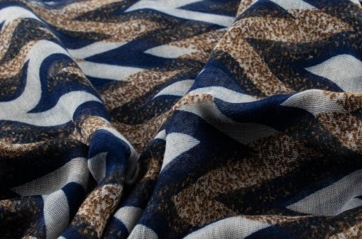 Everyday Geo Print - Hidden Pearls - Blue