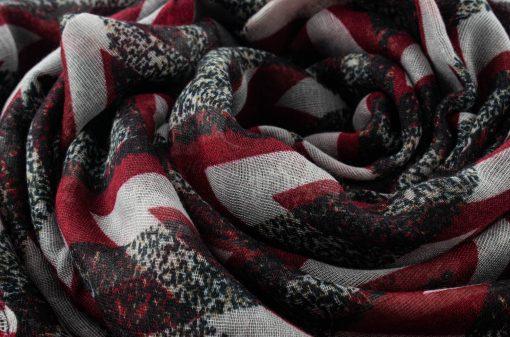 Everyday Geo Print - Hidden Pearls - Red