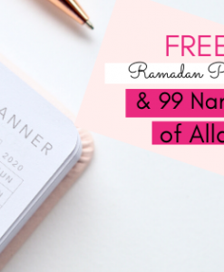 Ramadan tips - FREE Ramadan Planner & 99 Names of Allah - Hidden Pearls