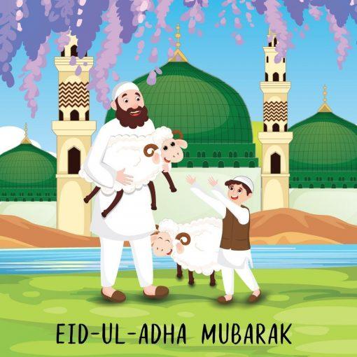 Eid ul Adha Family Card - Greeting cards - Hidden Pearls.jpg