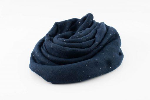 Everyday Glitter Hijab - Midnight Blue -Hidden Pearls
