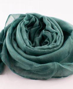 Everyday Glitter Hijab - Pistachio -Hidden Pearls