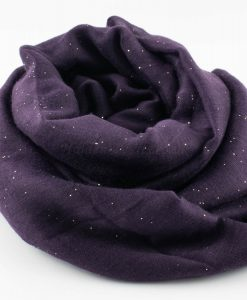 Everyday Glitter Hijab - Plum -Hidden Pearls