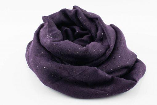 Everyday Glitter Hijab - Plum -Hidden Pearls