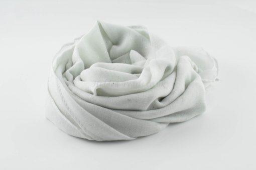 Everyday Glitter Hijab - White -Hidden Pearls