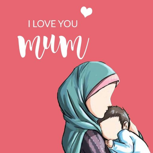 I Love You Mum Card - Greeting cards - Hidden Pearls