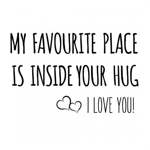 Inside Your Hug - Greeting cards - Hidden Pearls