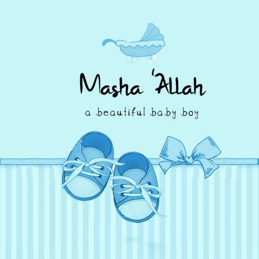 Mashah'Allah Boy Card - Greeting cards - Hidden Pearls