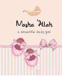 Mashah'Allah Girl Card - Greeting cards - Hidden Pearls