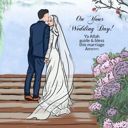 Wedding Day Card - Greeting cards - Hidden Pearls
