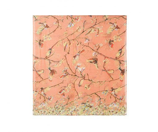 Blushing Blooms Hijab - Hidden Pearls - Peach3