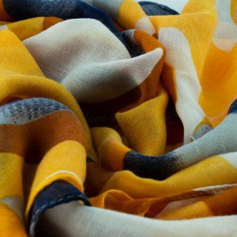 Sunburst Hijab - Hidden Pearls - Yellow
