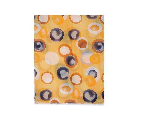 Sunburst Hijab - Hidden Pearls - Yellow2