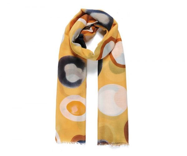 Sunburst Hijab - Hidden Pearls - Yellow3