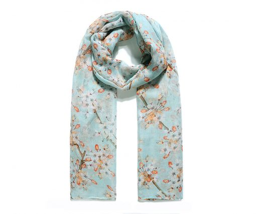 Turquoise waters Hijab - Hidden Pearls - blue2