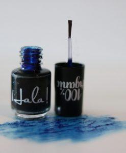 Hala! Nail Stain - Blue - Hidden Pearls