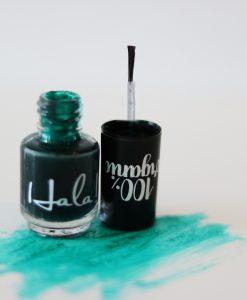 Hala! Nail Stain - green - Hidden Pearls