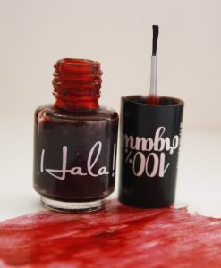 Hala! Nail Stain - Red - Hidden Pearls