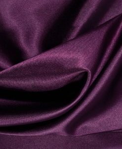 plain Silk plum hijab - hidden pearls