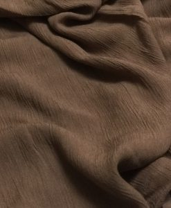 Cashmere hijab - coffee - hidden pearls